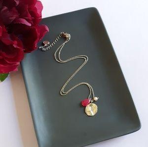 Silpada 925 breast cancer awareness necklace